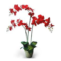 Real Touch Large Dancing Orchid Arrangement