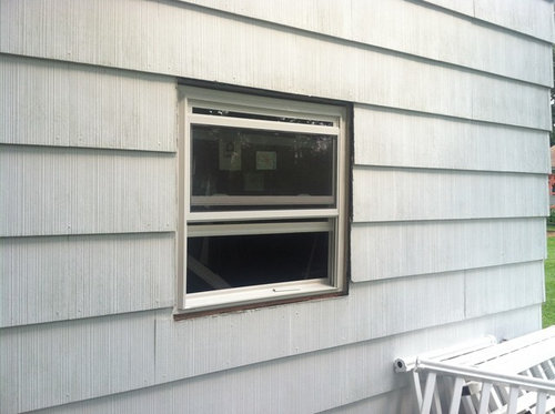 Replacing Windows With Asbestos Siding
