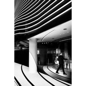 """Pixtury """"Nuovi Spazi Contemporanei"""" Photo Print, Aluminium, 40x60 cm"""