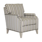 Universal Furniture Haven Upholstered Arm Chair In Linen