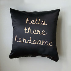 - Hello There Handsome Cushion - Scatter Cushions