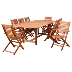 Transitional Outdoor Dining Sets by International Home Miami Corp