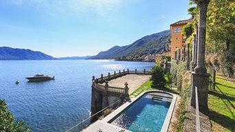 Piscina privata a Cannero Riviera