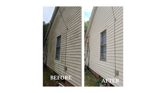 House Washing Before & After