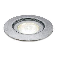 Ledra 12C, Recessed In Ground Light, LED, 45 Degree Lens, 3000K, Chrome