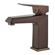 Valencia Single Handle Bathroom Vanity Faucet, Oil Rubbed Bronze
