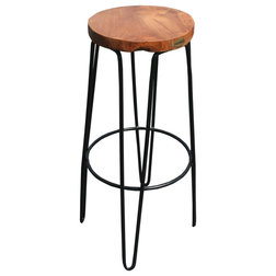 Industrial Outdoor Bar Stools And Counter Stools by Chic Teak
