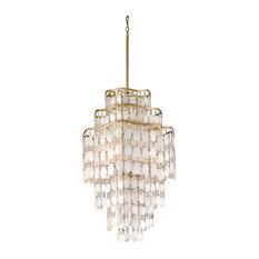 Corbett Dolce 7-Light Pendant, Gold