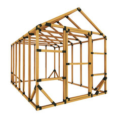 8x12 Standard Storage Shed Kit, No Floor