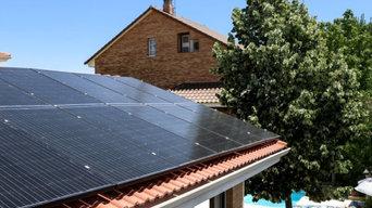 Fotovoltaica residencial para porches