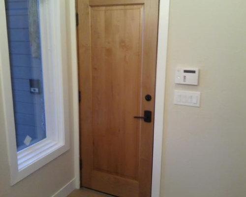 trustile entry door and door
