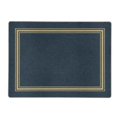 Hospitality Small Placemats, Set of 10, Blue, Gold, Lady Clare Placemats