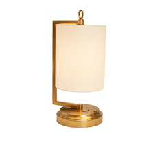 Jynn Cordless Lamp, Antique Brass, Rechargeable Battery Operated