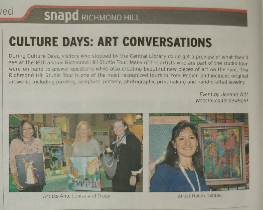 SNAPD Richmond Hill, October Issue, 2018