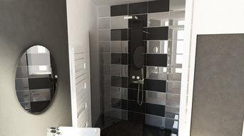 Aménagement 3D salle de bains