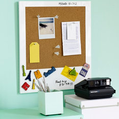 Contemporary Noticeboards Chalkboards Find Cork Board and