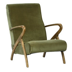Occasional Chair DOVETAIL PERRY New D