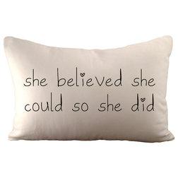 Contemporary Decorative Pillows by Sarah Smile