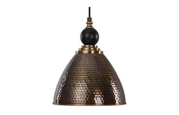 Adastra 1 Light Antique Brass Pendant (22052)