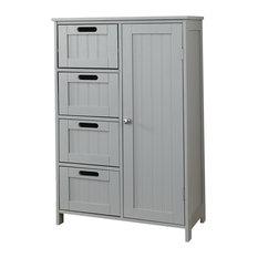 Frontier Bathroom Cabinet, Grey
