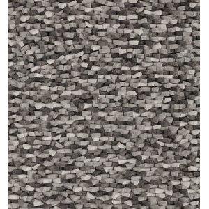 Crush Rug, Grey, 140x200 cm