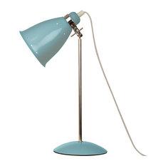 Kafe Retro Desk Lamp, Surfer Blue