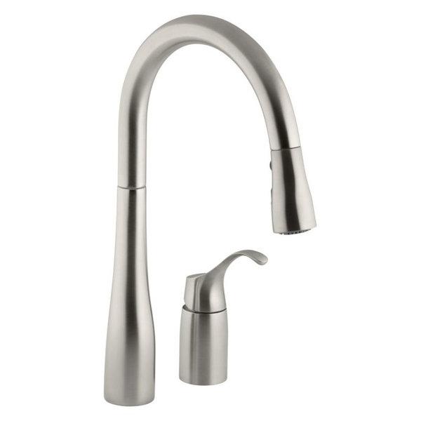 Kohler Simplice 2 Hole Kitchen Sink Faucet Price Comparison