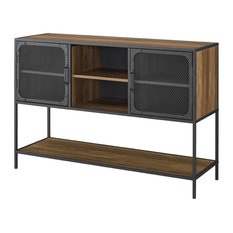 48-inch Industrial Buffet Sideboard Reclaimed Barnwood