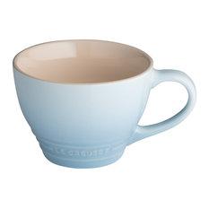 Le Creuset Stoneware Grand Mug, 400 ml, Coastal Blue