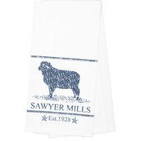 Sawyer Mill Blue Lamb Towel