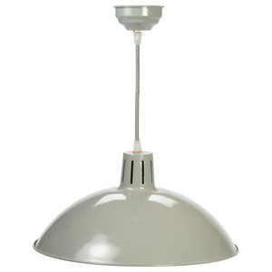 Garden Trading Battersea Pendant/Ceiling Light, Clay