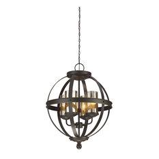 Sea Gull Lighting 4-Light Chandelier, A19/100w