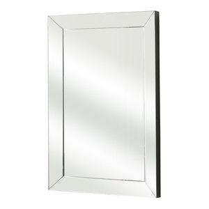 Abbyson Living Andrew Wall Mirror, Silver
