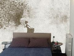 Carta Da Parati A Righe Tortora : Errore camera da letto letto parete
