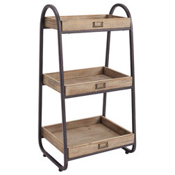 Industrial Bathroom Shelves by Furniture Domain