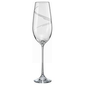 Elina Champagne Flutes, Set of 6