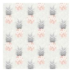Ludic Wallpaper, Pink and Grey