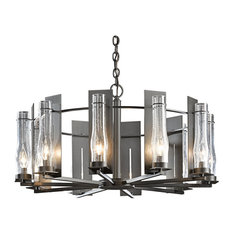 Hubbardton Forge (103290) 10 Light New Town Chandelier