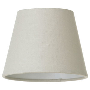 Conical Soft Cotton Lamp Shade, Mocha