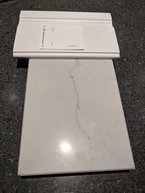 Caesarstone London Grey For A White Kitchen