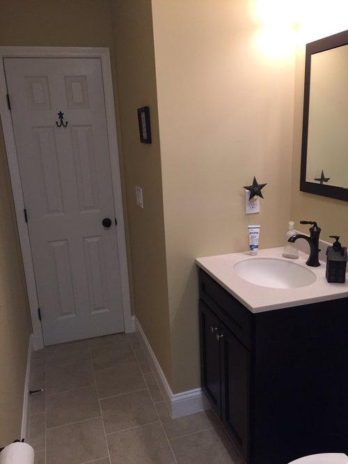 Cozy Bathroom Remodel in Hackettstown - Bathroom Vanities And Sink Consoles