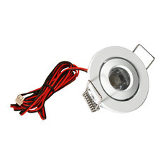 AMERICAN LIGHTING LMS-WH LED Mini Swivel Puck Light, 1.25 Watts