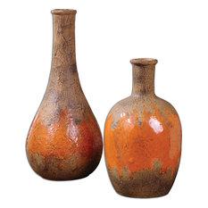 Uttermost Kadam Ceramic Vases Set Of 2 19825