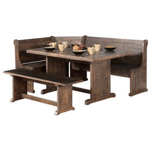 Wondrous Chelsea Nook Natural Traditional Dining Sets By Linon Pdpeps Interior Chair Design Pdpepsorg