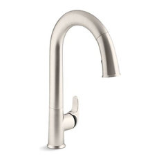 "Kohler Sensate Touchless Kitchen Faucet, 15-1/2"" Pull-Down Spout"