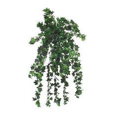 "Faux Hanging German Ivy Plant, 46"""