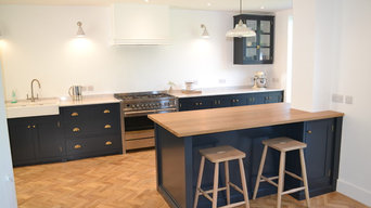 Wantage painted kitchen