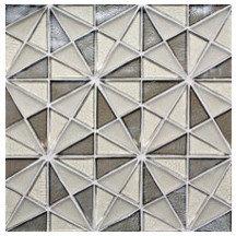 """Kaleidoscope"" Glass Mosaic - Tile"