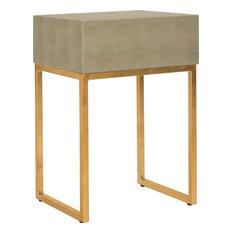 Safavieh Mori Shagreen Modern Side Table