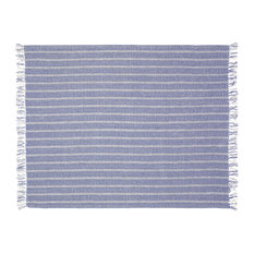 Flynn Woven Cotton Throw Blanket